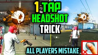 One Tap Headshot Trick In Free Fire Auto Headshot Top 4 Latest Tricks Garena Free Fire Youtube