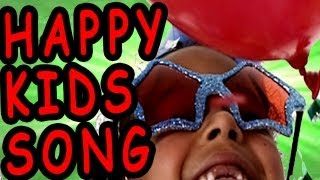 Happy Song for Children with Lyrics - Kids Songs by The Learning Station
