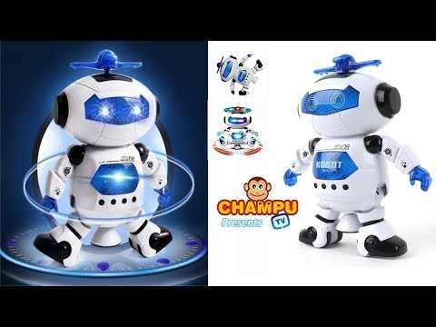 Intra 360 degrees Naughty Digital Dancing Robot FROM CHAMPU TV