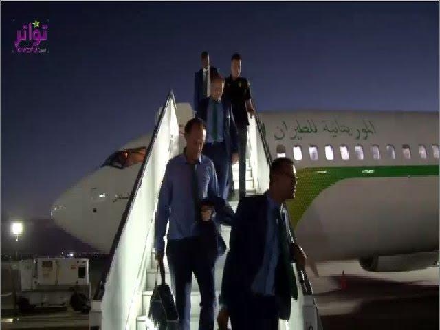 """وصول المنتخب الموريتاني الى المغرب للمشاركة في بطولة افريقيا للاعبين المحليين """" الشان """""""