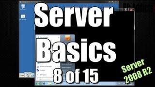 Server Basics (8) | Logon Scripts - Map Network Drive