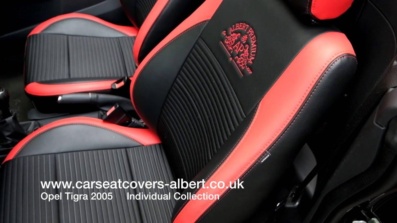 Vauxhall Opel Tigra 2005 Uk Seat Covers Youtube