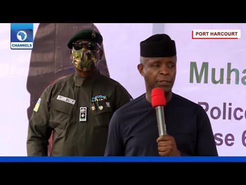 Full Speech: VP Osinbajo Commissions Police SPU Base In Port Harcourt