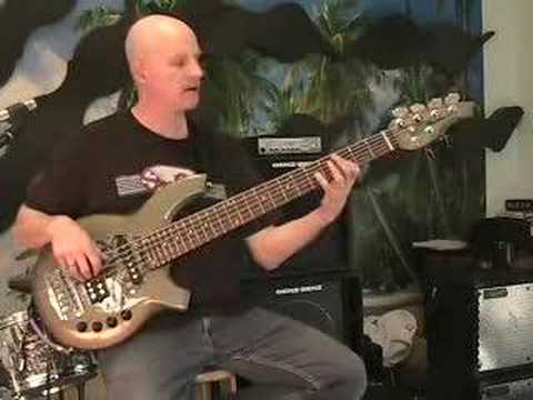Ernie Ball/Music Man Bongo 6 String Bass - YouTube