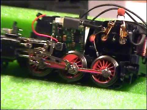 Digitalumbau einer Märklin BR 24 mit einem Tams-Decoder LD-W-32 Komplettes Video