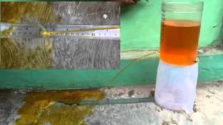 Hukum Bernoulli Tangki Bocor