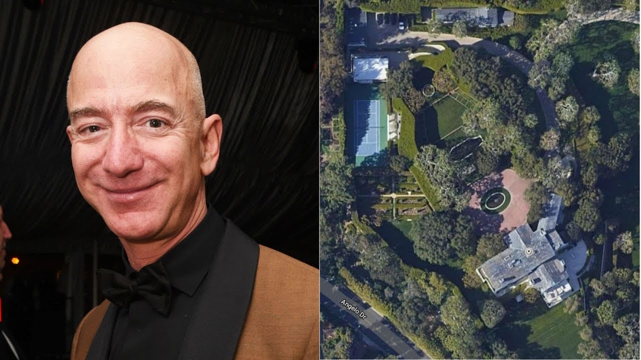 Bezos' $165-million purchase of Geffen mansion sets California record