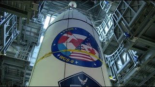 Delta IV WGS-9 Payload Mate