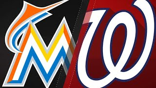 Galloway comes up clutch in Marlins' 7-5 win: 8/18/18