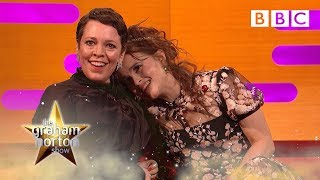 The royal ghost that prepared Helena Bonham Carter for The Crown… 👑 | The Graham Norton Show - BBC