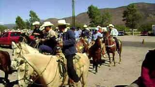 Desfile de la organisacion ganadera del Municipio De Rodeo Durango México.11/28/09 No.3