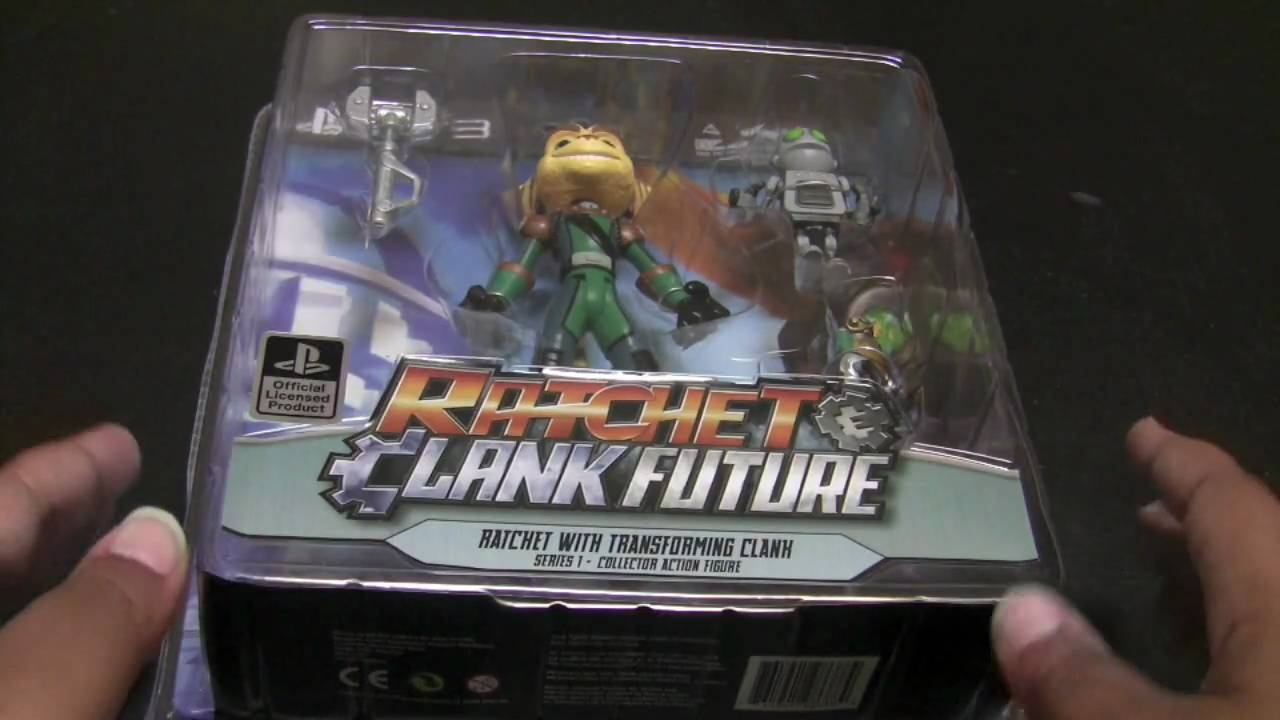 Unboxing Ratchet Clank Action Figures Youtube