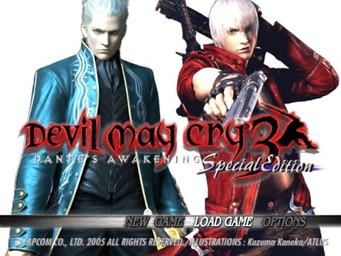 Devil May Cry 3 HD All Bosses
