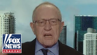 Dershowitz: Shame on Mueller, doesn't have the guts to make a decision
