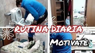 RUTINA DIARIA CON ANGELITO 😇🤣motivate a limpiar conmigo