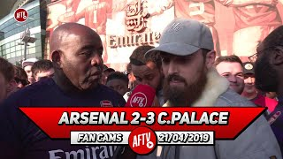 Arsenal 2-3 Crystal Palace | Mustafi Is The Biggest Liability! (Turkish)