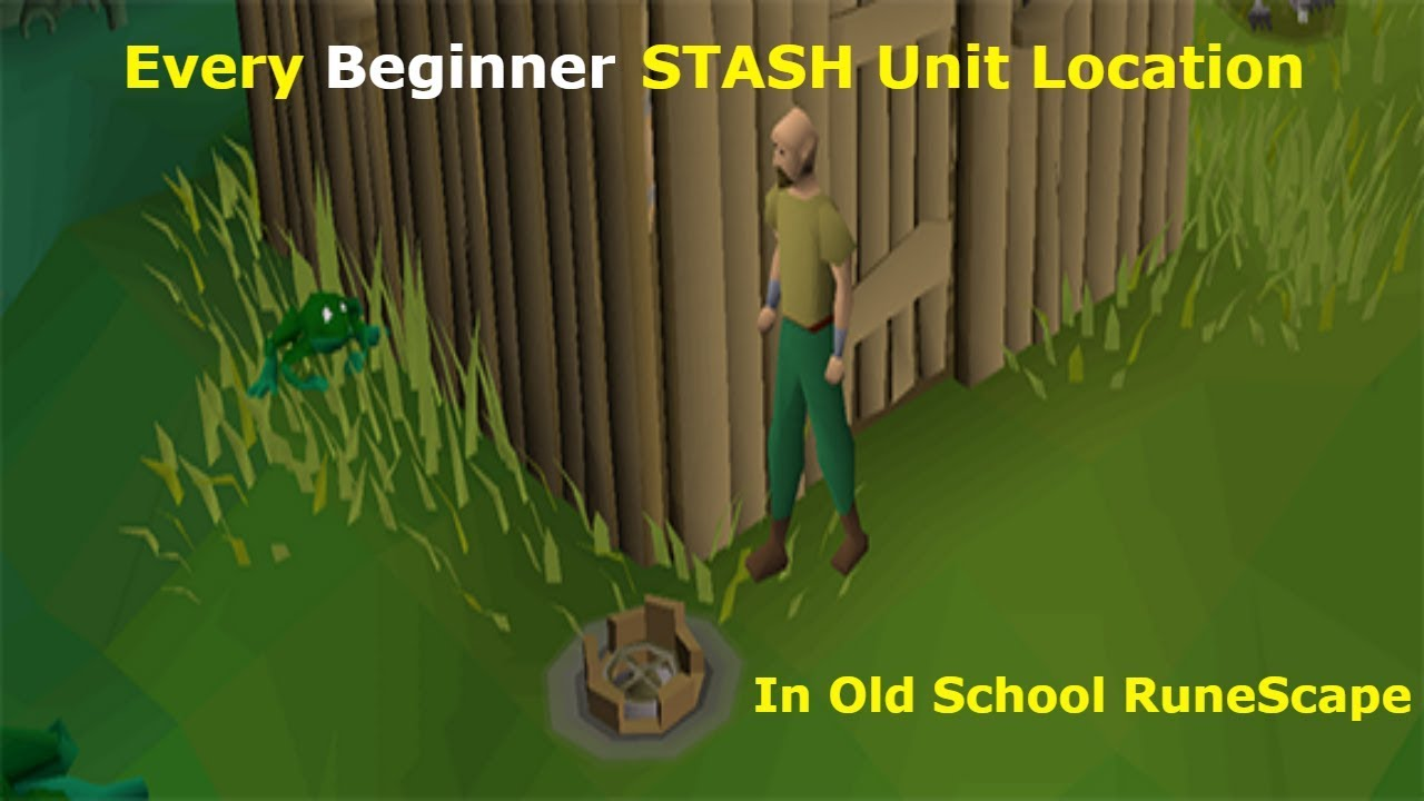 Every Beginner STASH Unit Location in OSRS including Timestamps