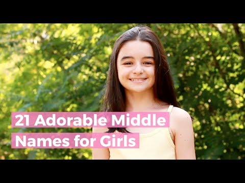 21 Adorable Middle Names For Girls