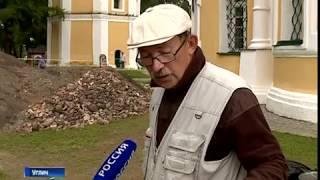 Археологи из Санкт-Петербурга проводят раскопки в Угличском кремле