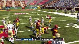 NCAA football 12 gameplay: UCLA vs. USC (Xbox 360) - Twitter @NCAAdynasty