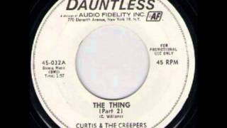 CURTIS & THE CREEPERS - THE THING (Part 2) - DAUNTLESS 45 032A