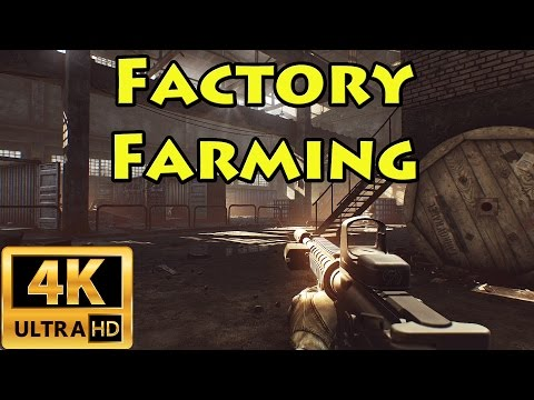 Farming Factory in 4K - Escape From Tarkov