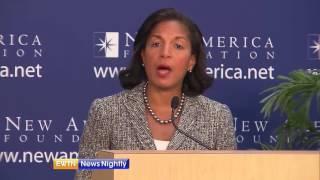 "Top Obama Official Susan Rice denies ""unmasking"" Trump staffers"