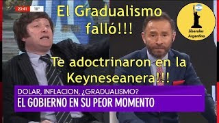 ¡Javier Milei Destruye a un Keyneseano!