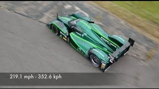 Drayson B12 200 mph electric car | Fully Charged