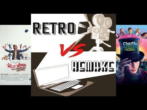 Retro Vs Remake - Episode 1 - War of Wonkas
