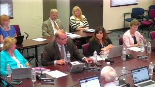 WJCC School Board Meeting from 7/10/18