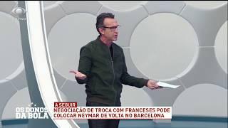 Neto questiona Neymar: Você joga bola ou é celebridade?