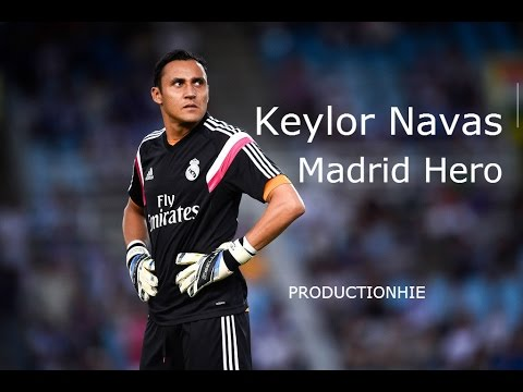 Keylor Navas - Madrid Hero - 2015 HD