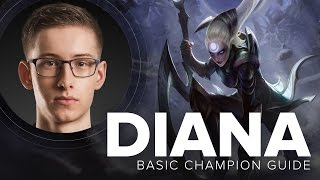 Diana Mid Carry guide by TSM Bjergsen - Season 5 | League of Legends