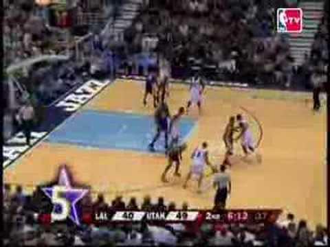 The Top 10 Anklebreakers in the 2008 NBA Season