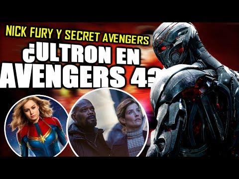 ¡INCREÍBLE! Nick Fury en Civil War e Infinity War y la explicación de Captain Marvel   Análisis