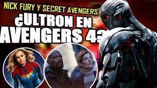 ¡INCREÍBLE! Nick Fury en Civil War e Infinity War y la explicación de Captain Marvel | Análisis