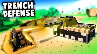 TRENCH Defense! NEW Low Poly Battlefield Defense Game Mod (MOWAS2 Huaji Mod)