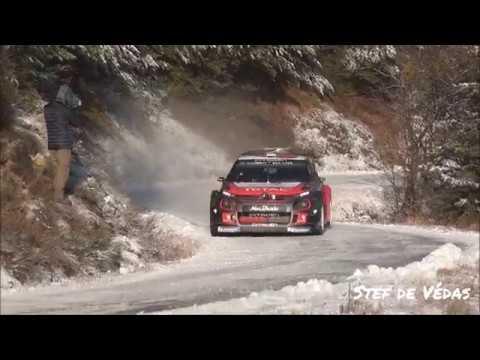 Tests OGIER/LAPPI Citroen  Monte Carlo 2019