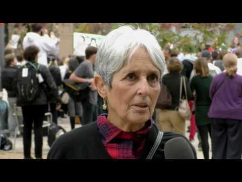 Joan Baez Comments on President-Elect Donald Trump