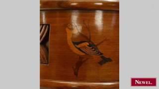 Antique Italian Art Deco (1930) Rosewood Console Table
