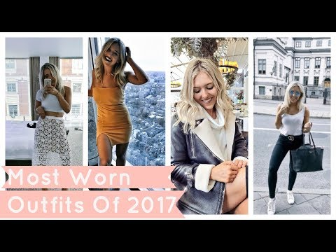 MOST WORN CLOTHES IN MY WARDROBE - Best Outfits From 2017 / FAVE TRY ON HAUL OUTFITS