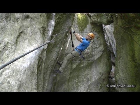 Klettersteig Rating : Klettersteig rio sallagoni #1 spektakuläre schlucht ferrata