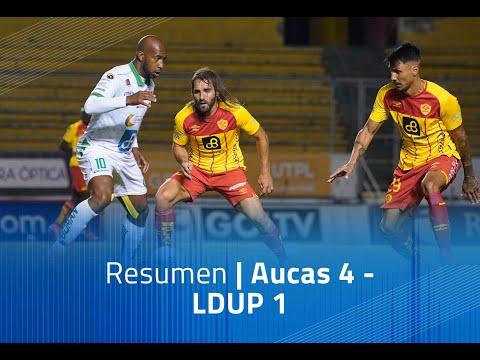 Aucas LDU Portoviejo Goals And Highlights