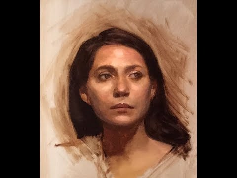 Portrait Painting Tutorial | Form & Structure