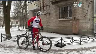 Велосипедист из Пушкина готовится установить рекорд. Но помешать этому может отсутствие велосипеда