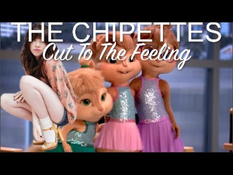 Carly Rae Jepsen - Cut To The Feeling  ( VERSION THE Chipettes ),COVER