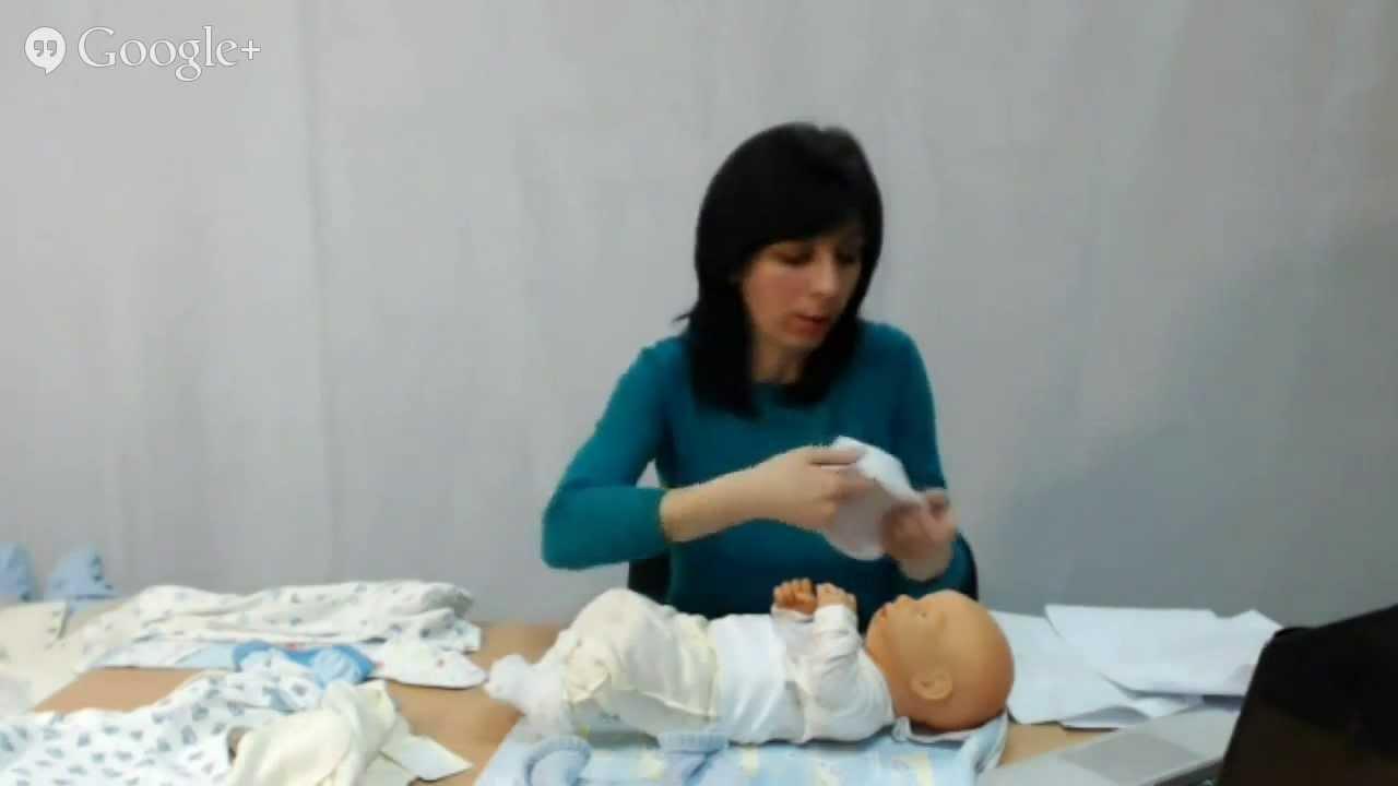 Как одевать новорожденного зимой - YouTube