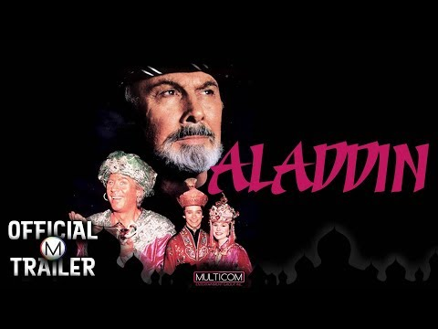 Aladdin (1990) | Official Trailer [SD] Feature Musical | Barry Bostwick