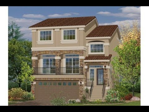 Model house 3 story 3026 sq ft by american west homes in for Two story model homes
